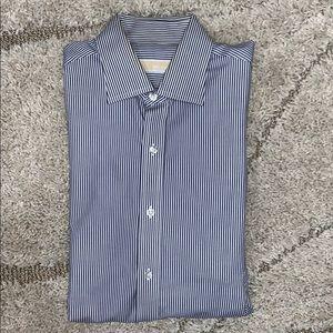 Michael Kors Men's stripped dress shirt